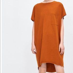ZARA oversized tee/ tee dress